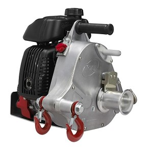 Gas-powered portable capstan winch PCW5000