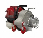 Gas-powered portable capstan winch PCW3000